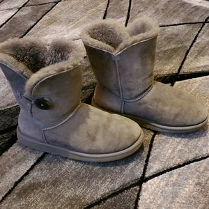 Classic Bailey button Gray UGG Price Firm